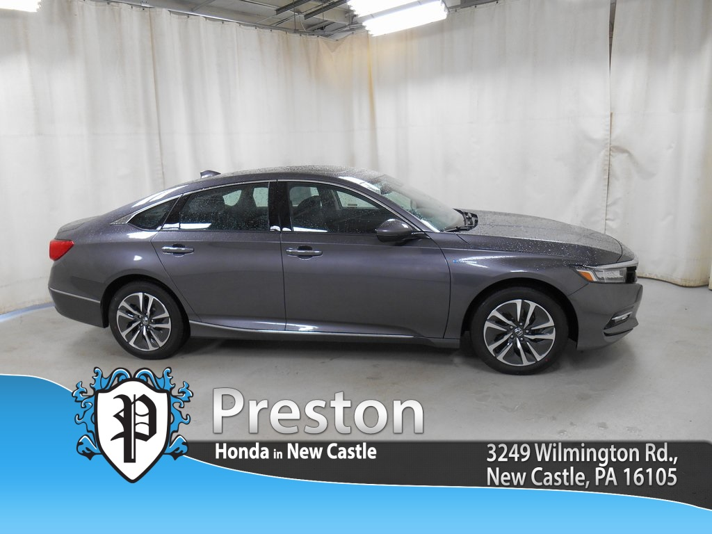 new 2018 honda accord hybrid touring 4d sedan in new castle h18423 preston honda. Black Bedroom Furniture Sets. Home Design Ideas