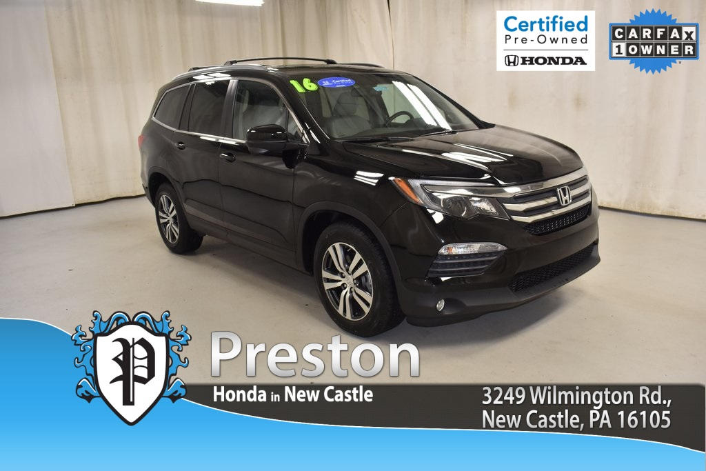 Certified Pre Owned 2016 Honda Pilot Ex L 4d Sport Utility In New